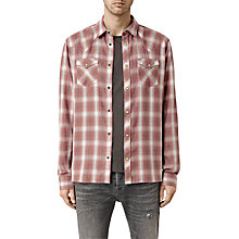 Buy AllSaints Spokane Check Slim Fit Shirt Online at johnlewis.com