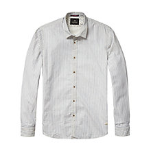 Buy Scotch & Soda Stripe Shirt, Blue/White Online at johnlewis.com