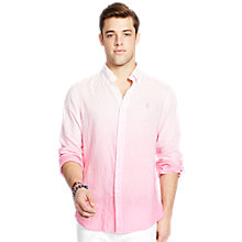 Buy Polo Ralph Lauren Custom Fit Pin Point Collar Long Sleeve Sport Shirt Online at johnlewis.com