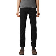 Buy AllSaints Crow Iggy Jeans, Jet Black Online at johnlewis.com