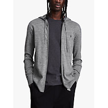 Buy AllSaints Mode Merino Full Zip Hoodie Online at johnlewis.com