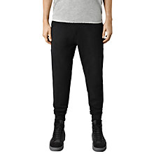 Buy AllSaints Wilde Sweatpant, Jet Black Online at johnlewis.com