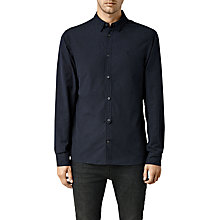 Buy AllSaints Waycross Long Sleeve Shirt Online at johnlewis.com