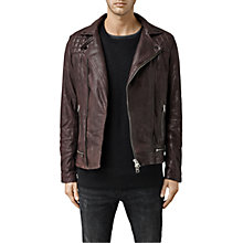 Buy AllSaints Conroy Leather Biker Jacket Online at johnlewis.com
