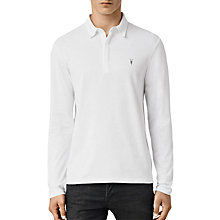 Buy AllSaints Brace Long Sleeve Polo Shirt Online at johnlewis.com