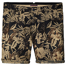 Buy Scotch & Soda Summer Flroal Chino Shorts, Green Online at johnlewis.com
