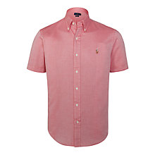 Buy Polo Ralph Lauren Slim Fit Button Down Short Sleeve Sport Shirt Online at johnlewis.com