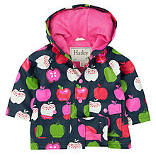 Buy Hatley Baby Nordic Apples Raincoat, Purple Online at johnlewis.com