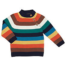 Buy John Lewis Baby Pie Multi Stripe Jumper, Multi Online at johnlewis.com