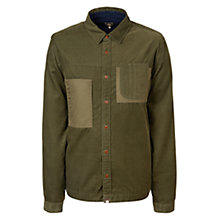 Buy Pretty Green Baslow Shirt, Khaki Online at johnlewis.com