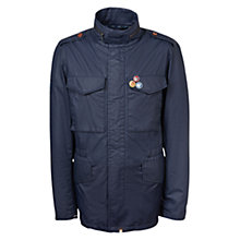 Buy Pretty Green Jetson Jacket, Navy Online at johnlewis.com