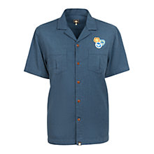 Buy Pretty Green Bardsley Short Sleeve Shirt, Blue Online at johnlewis.com