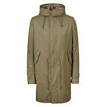 Buy Pretty Green Ford Parka Jacket, Khaki Online at johnlewis.com