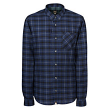 Buy Pretty Green Enderby Shirt, Navy Online at johnlewis.com