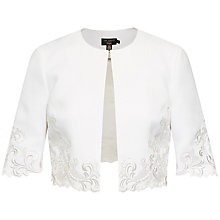 Buy Ted Baker Carleta Embroidered Jacket Online at johnlewis.com