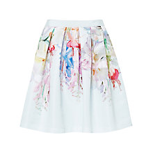 Buy Ted Baker Thyra Hanging Garden Full Skirt, Mint Online at johnlewis.com