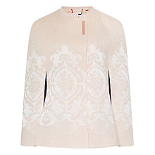 Buy Ted Baker Zala Jacquard Cape Online at johnlewis.com