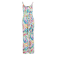 Buy Lauren Ralph Lauren Eljendra Jumpsuit, Multi Online at johnlewis.com