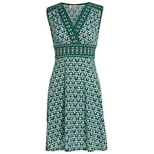 Buy Max Studio Printed Jersey Dress, Green/Ocean Online at johnlewis.com
