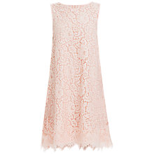 Buy Max Studio Sleeveless Floral Lace Dress, Pale Rose Online at johnlewis.com