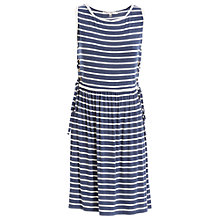 Buy Max Studio Stripe Jersey Dress, Blue/White Online at johnlewis.com