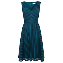 Buy Coast Longoria Textured Dress, Forest Online at johnlewis.com