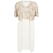 Buy Gina Bacconi Two Tone Guipure Lace Coat And Dress Online at johnlewis.com