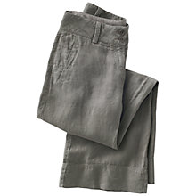 Buy Poetry Wide Leg Trousers, Khaki Online at johnlewis.com