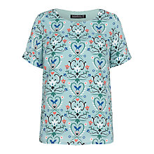 Buy Sugarhill Boutique Hilary Butterfly Fiesta Top, Green Online at johnlewis.com