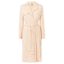 Buy Coast Tortie Lace Coat, Blush Online at johnlewis.com