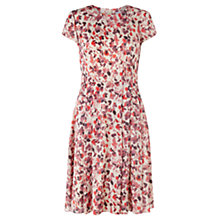 Buy Jigsaw Waterlily Dress, Multi Online at johnlewis.com