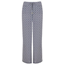 Buy Mint Velvet Imogen Print Wide Leg Trousers, Multi Online at johnlewis.com