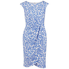 Buy Gina Bacconi Printed Scuba Wrap Dress, Perri Online at johnlewis.com