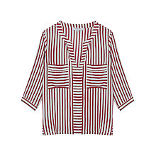 Buy Gerard Darel Corfou Blouse, Red Online at johnlewis.com