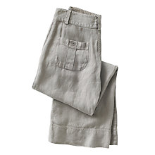 Buy Poetry Wide Leg Trousers, Soft Grey Online at johnlewis.com