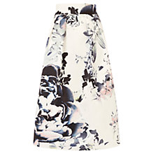Buy Coast Miriam Printed Skirt, Multi Online at johnlewis.com