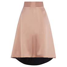 Buy Coast Xenia High Low Skirt, Prosecco Online at johnlewis.com