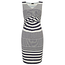 Buy Phase Eight Sadie Stripe Dress, Navy/White Online at johnlewis.com