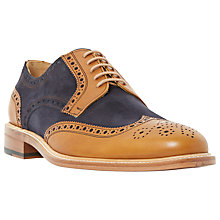 Buy Dune Black Sunray Combination Lace-Up Brogues, Tan Online at johnlewis.com