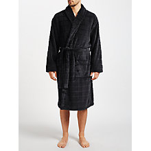 Buy John Lewis Embossed Check Robe Online at johnlewis.com