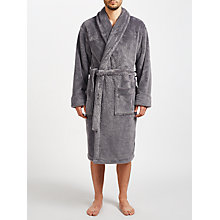 Buy John Lewis High Pile Fleece Robe Online at johnlewis.com