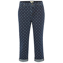 Buy White Stuff Southern Ocean Spot Cropped Jeans, Denim Online at johnlewis.com