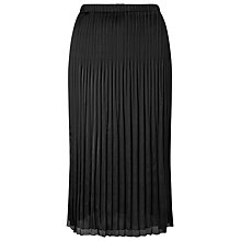Buy Windsmoor Crinkle Skirt, Black Online at johnlewis.com