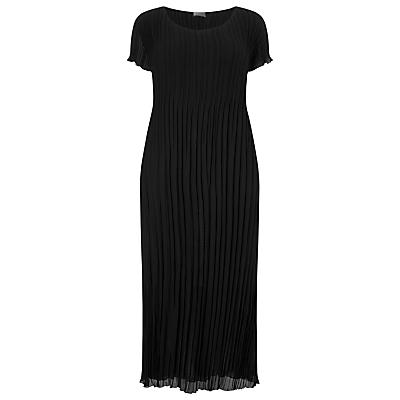 Windsmoor Crinkle Dress, Black