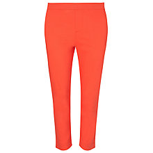 Buy Windsmoor Clementine Cropped Trousers, Mid Pink Online at johnlewis.com