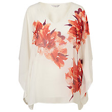 Buy Windsmoor Tropical Iris Kaftan, Cream/Multi Online at johnlewis.com