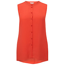 Buy Windsmoor Clementine Blouse, Bright Orange Online at johnlewis.com