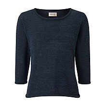 Buy Precis Petite Tape Yarn Jumper, Navy Online at johnlewis.com