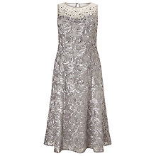 Buy Windsmoor Embellished Cornelli Dress, Neutral Online at johnlewis.com