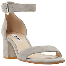 Buy Dune Jaygo Block Heeled Sandals Online at johnlewis.com